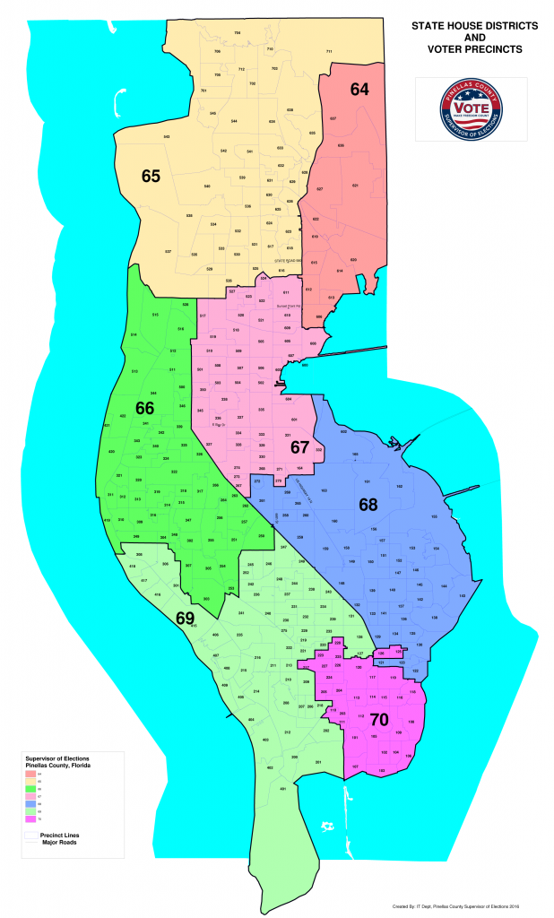 Pinellas County state house districts