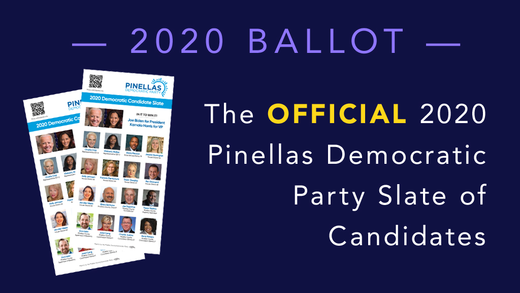 2020 Pinellas Democratic Party Slate
