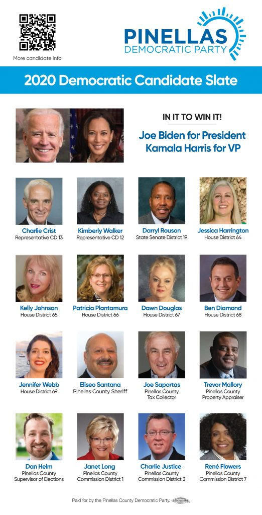 2020 Pinellas Democrats Slate
