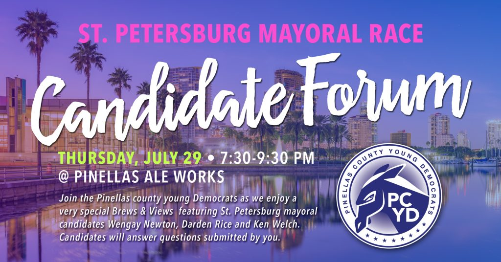 St Petersburg Mayoral Race Candidate Forum